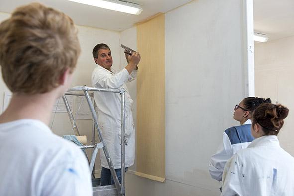 Lycée professionnel privé Notre-Dame Section Peintre Applicateur de revêtement