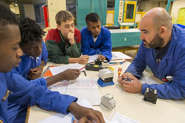 Lycée professionnel privé Notre-Dame Section Electricité