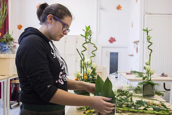 Lycée horticole et paysager Notre Dame des Jardins Section Fleuriste