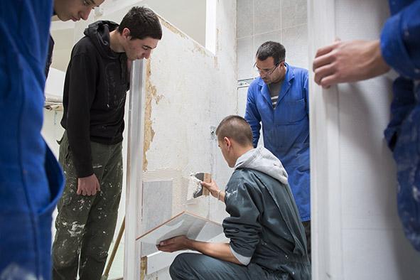 Lycée professionnel privé Notre-Dame Section Maintenance Bâtiment Collectivité
