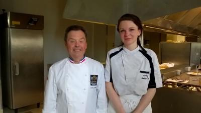 medaille d'o cuisine audrey et mr freon_concours MAF