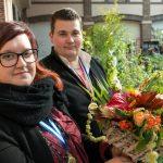 Thibault Jousse et Marion Beloeil MAF Fleuristerie